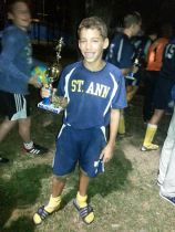 Cole in Sept 2013 after a hard won tournament championship!